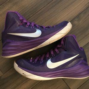 Purple Nikes!